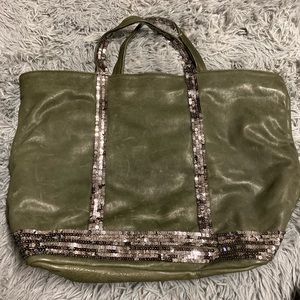Venessa Bruno army green tote